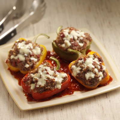 Savory Italian Stuffed Peppers