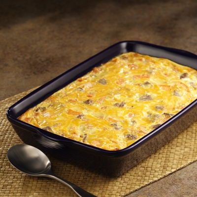 Sweet Potato Breakfast Casserole