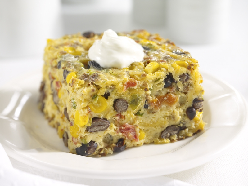 Fiesta Breakfast Casserole Recipe