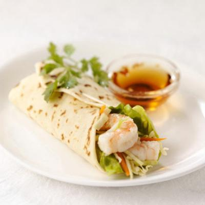 Asian Shrimp Wrap