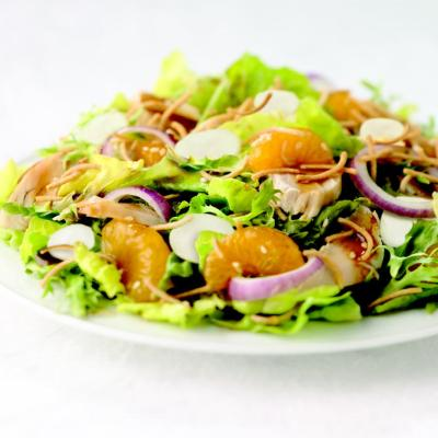 Asian Chicken and Orange Salad