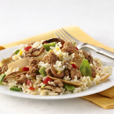 Turkey and Rice Casserole