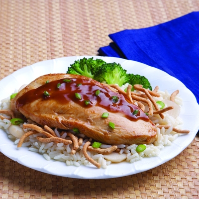 Easy Teriyaki Chicken and Rice