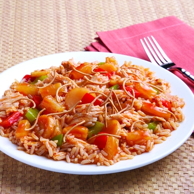Sweet and Sour Chicken Skillet