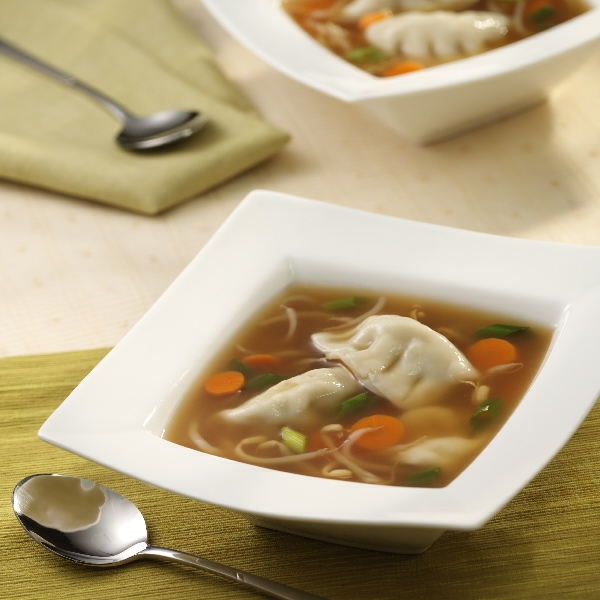Quick and Easy Won Ton Soup