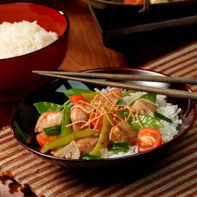 Stir-Fried Chicken and Vegetables