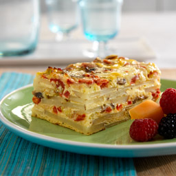 Fontina Potato Strata Recipe