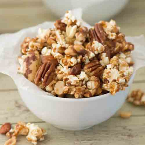Cinnamon Caramel Nut Crunch