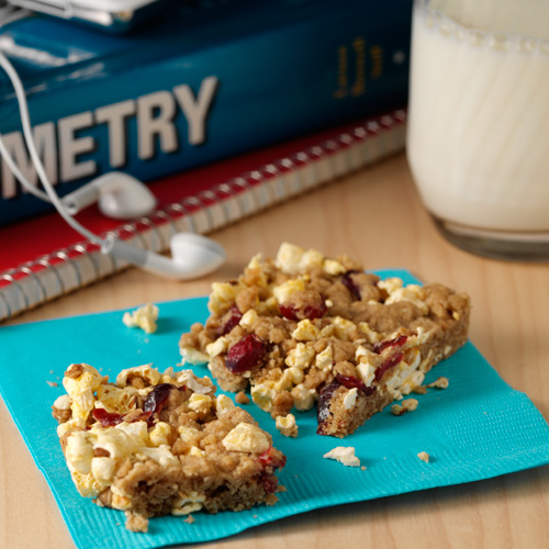 Orville's Power Crunch Bars Recipe