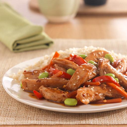 Sesame Chicken Stir Fry