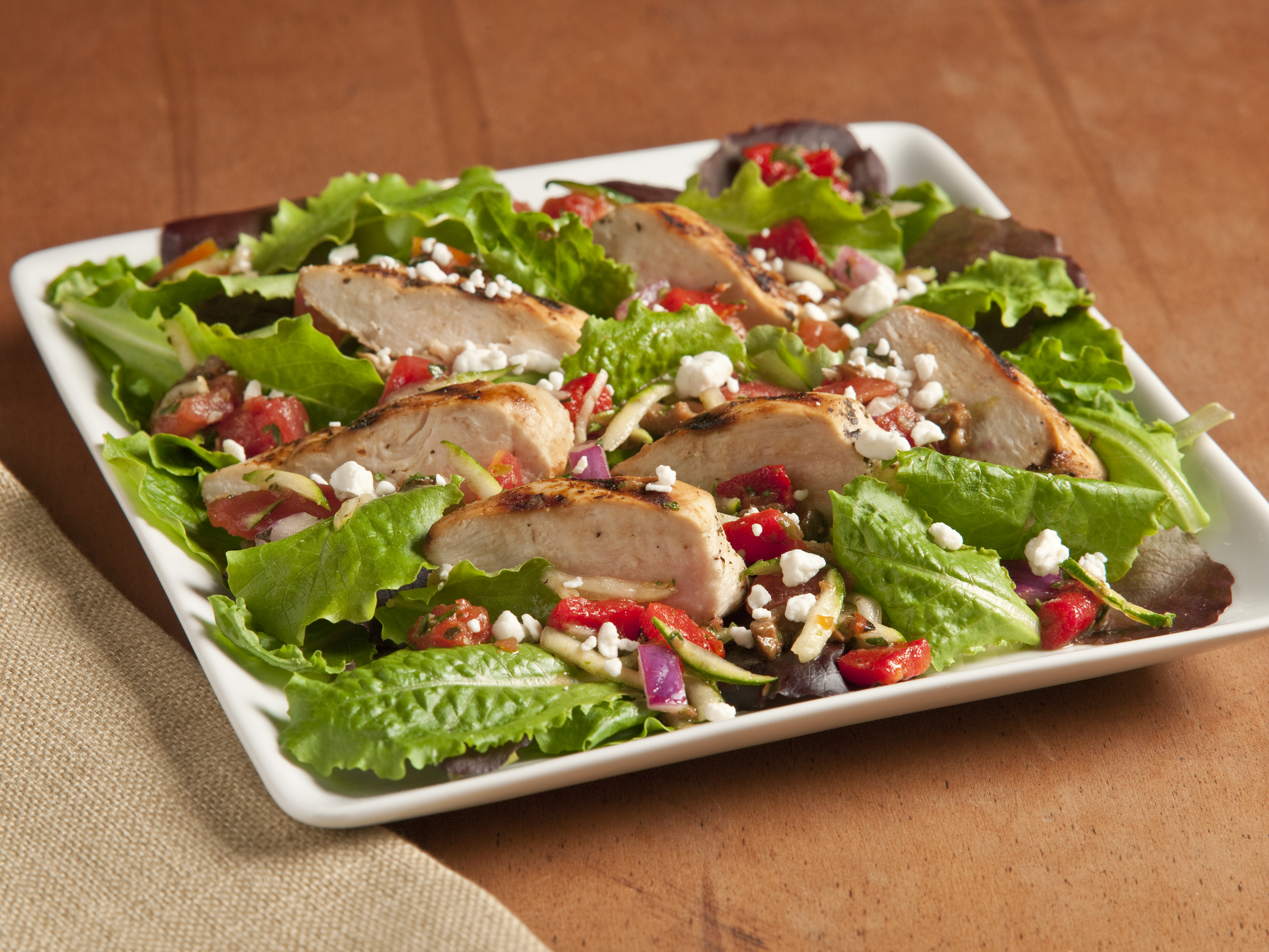 Grilled Chicken Provencal Salad Recipe