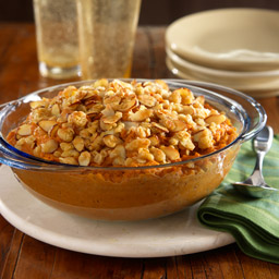 Orange-Sweet Potato Casserole with Almond Crumble Recipe