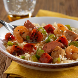 Slow-Cooked Jambalaya with Rice Recipe