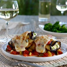 Eggplant Parm Rolls