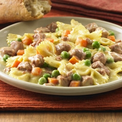 Corned Beef and Pasta Toss