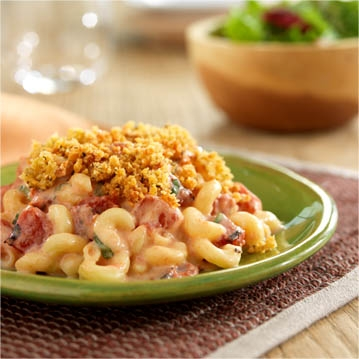 Fiery Tomato-Basil Mac and Cheese Recipe