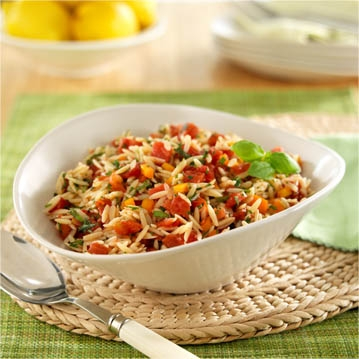 Orzo and Tomato Salad