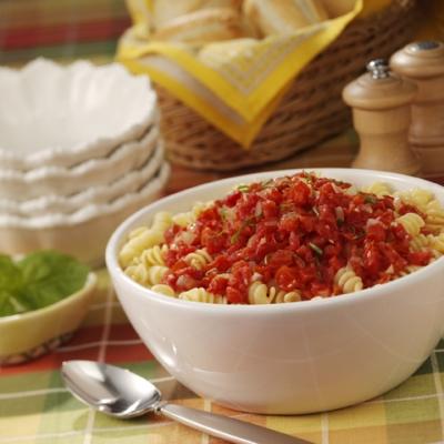Fresh Tomato Pasta Saute Recipe
