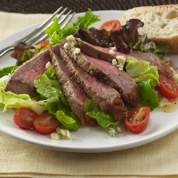 Mustard-Glazed Beef Steak Salad