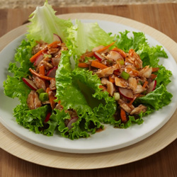 Asian Tuna Lettuce Wraps