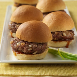 Asian-Inspired Mini Burgers