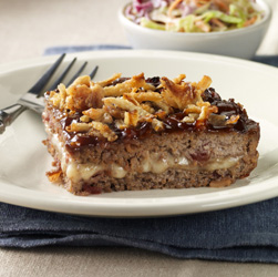 BBQ Bacon Meatloaf  Recipe
