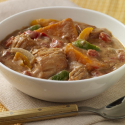 Slow Cooker African Chicken Stew 