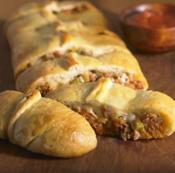 Pizza 'Calzone' Bake