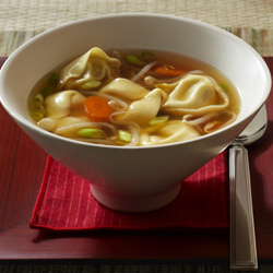 Chicken 'Won Ton' Soup