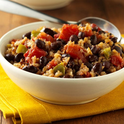 Cajun Black Beans and Brown Rice