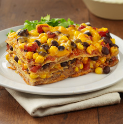 Bean Enchilada Casserole  Recipe