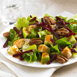 Chicken-Apple-Beet Salad  