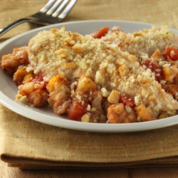 Home-Style Chicken and Stuffing