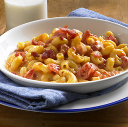 Tomato-Bacon Mac and Cheese