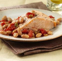 Italian-Style Salmon Packets