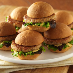Tuna Sliders for Two