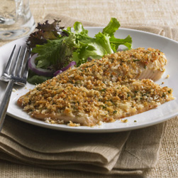 Parmesan-Crusted Tilapia for Two