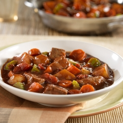 Heartwarming Beef Stew Skillet for Two