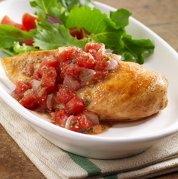 Pesto Pomodoro Chicken for Two