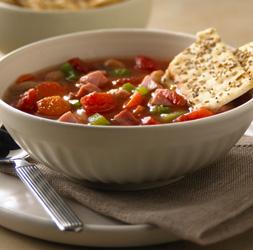 White Bean and Ham Soup Recipe
