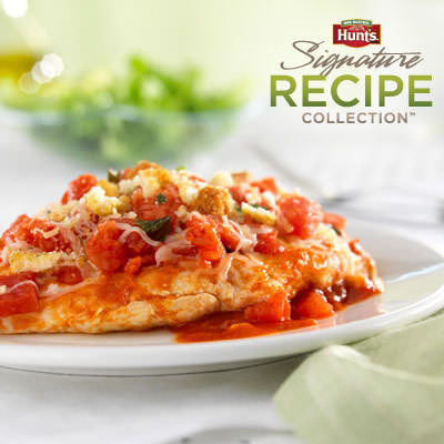 Hunt's Bruschetta Chicken Skillet Recipe