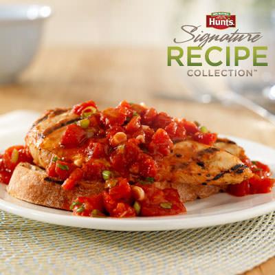 Hunt's® Bruschetta Chicken Grill Recipe