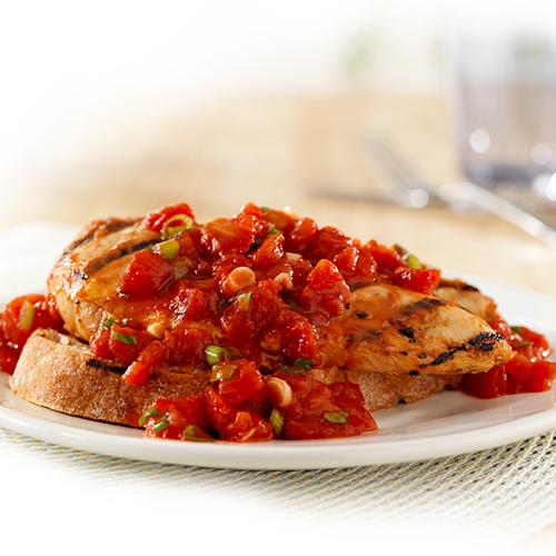 Bruschetta Chicken Grill Recipe