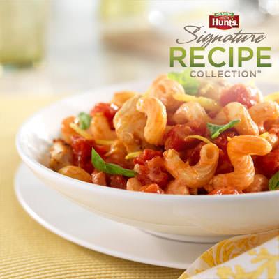 Hunt's® Lemon-Tomato Chicken Pasta Recipe