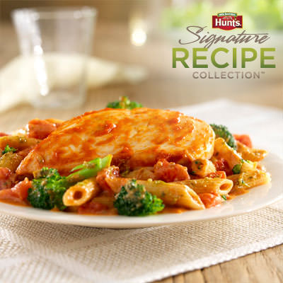Hunt's® Tomato and Pesto Chicken Recipe