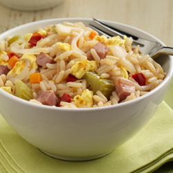 Ham 'Fried' Rice Recipe