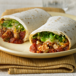 Stuffed Chicken Burritos