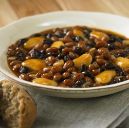 Vegetarian BBQ Skillet Beans