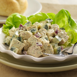 Creamy Dill Chicken Salad for Two