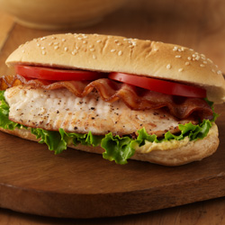 BLT Fish Sandwiches for Two
